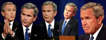 Bush debate faces