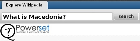 PowerSet search - What is macedonia