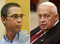 Gilad and Ariel Sharon