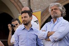 Giovanni Favia,  Beppe Grillo (2011)