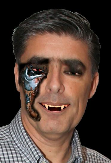 Evangelatos as...Terminator