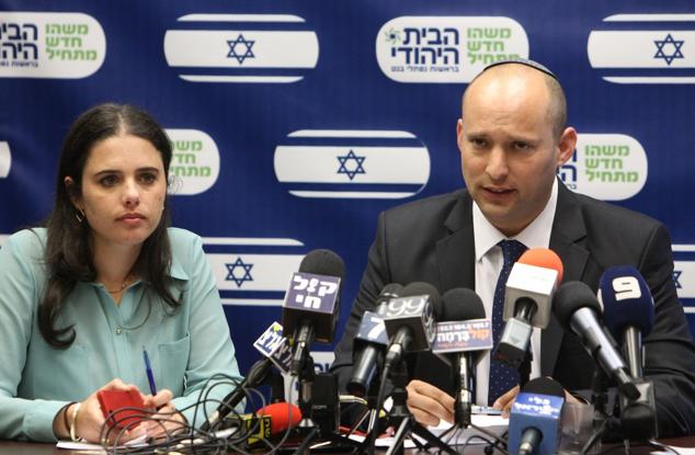 Ayelet Shaked, Naftali Bennett